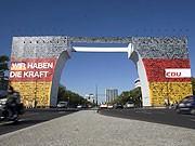 CDU, Wahlplakat, Berlin, Reuters