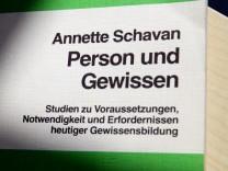 Annette Schavan, Uni Düsseldorf