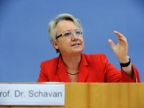 Annette Schavan, Plagiatsaffäre, doktortitel