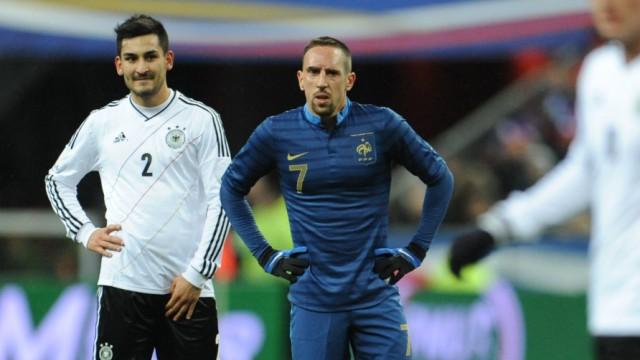 Länderspiel Frankreich - Deutschland