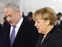 Kanzlerin Merkel und Israels Premier Netanjahu
