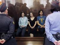 Pussy Riot klagt gegen Kreml vor Menschenrechtsgericht