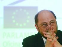 Martin Schulz, EU, EU-Parlament