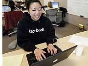 Facebook, ap, Stress, Freundschaft, Café