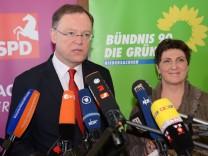 Stephan Weil, Anja Piel, SPD, Grüne, Niedersachsen