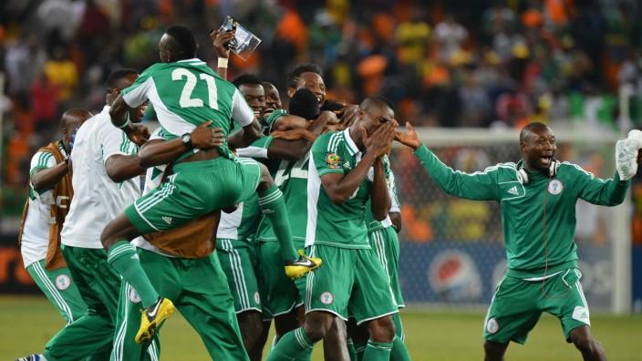 Super Eagles Nigeria gewinnen Afrika-Cup