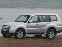 Mitsubishi, Mitsubishi Pajero, Geländewagen