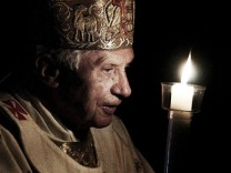 Benedikt XVI. Papst Vatikan Rücktritt