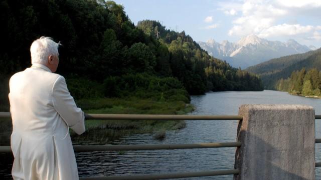 Papst Benedikt XVI in den Dolomiten