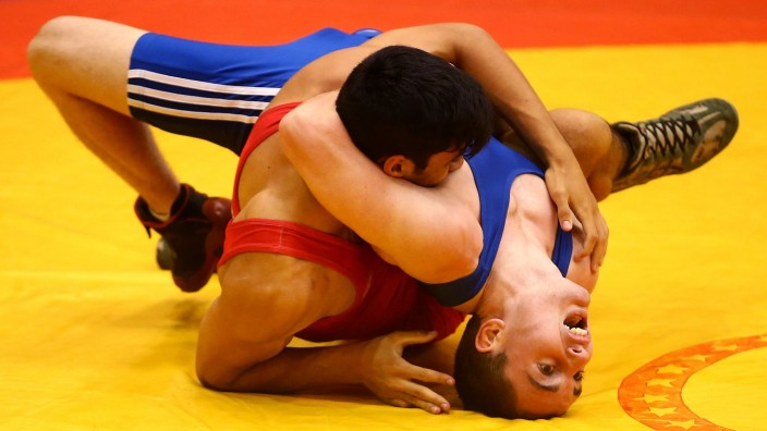 FILE - Wrestling Dropped From 2020 Olympic Games