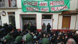 Protesters Blockade Apartment Eviction