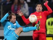 FC Zenit St.Petersburg vs Liverpool FC England