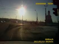 Meteorit, Russland, Autokamera