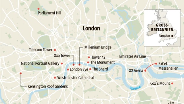 Stadtplan Karte London