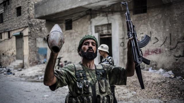Kämpfer der syrischen Rebellen
