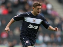 FILE: Footballer Robbie Rogers Reveals He Is Gay As He Announces Retirement MK Dons v Stevenage - npower League One