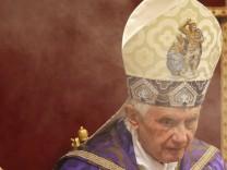 Papst Konklave Benedikt XVI.
