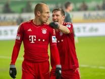 Arjen Robben VfL Wolfsburg - Bayern München 0:2
