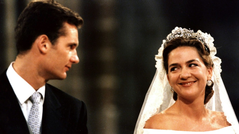 SPAIN'S INFANTA CRISTINA AND HUSBAND URDANGARIN