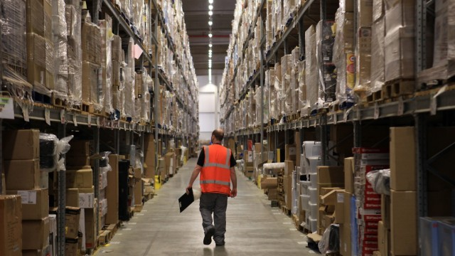 Arbeitsbedingungen im Amazon-Logistikzentrum