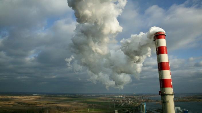 Greenpeace-Protest am Kohlekraftwerk in Konin