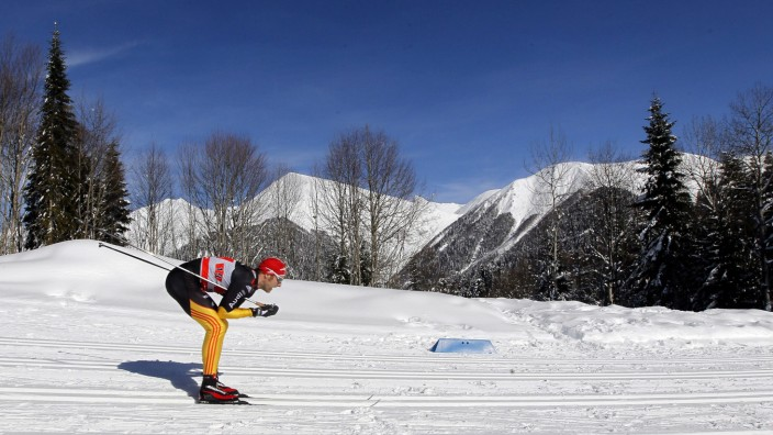 Cross Country Skiing World Cup in Sochi