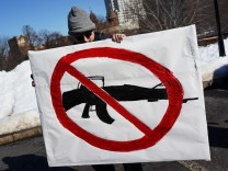 Rally Calling For Safer Gun Legislation Held In Hartford