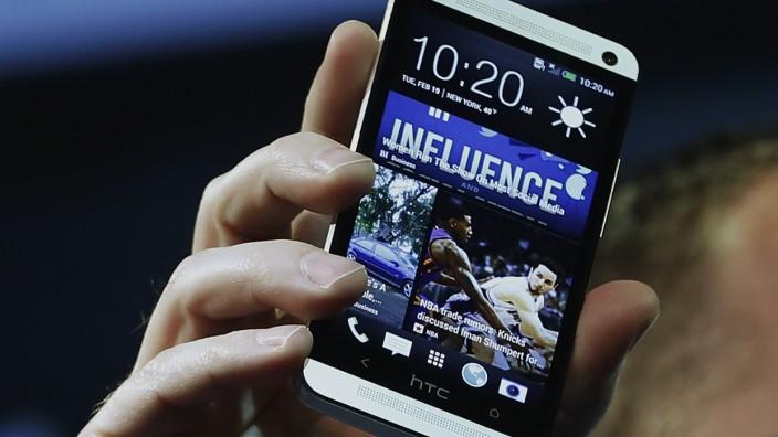 HTC präsentiert neues Smartphone HTC One