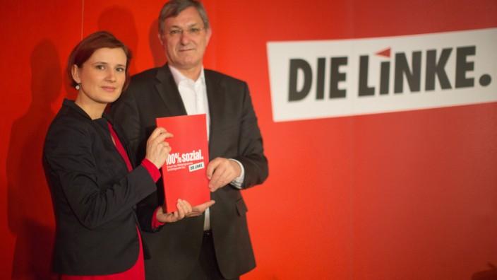 Linke stellen Bundestagswahlprogramm vor