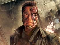 """Arnold Schwarzenegger in """"Terminator 3"""", 2003"""
