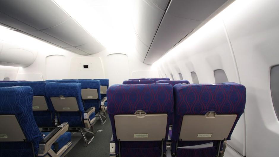 Licht Flugzeug natürlich
