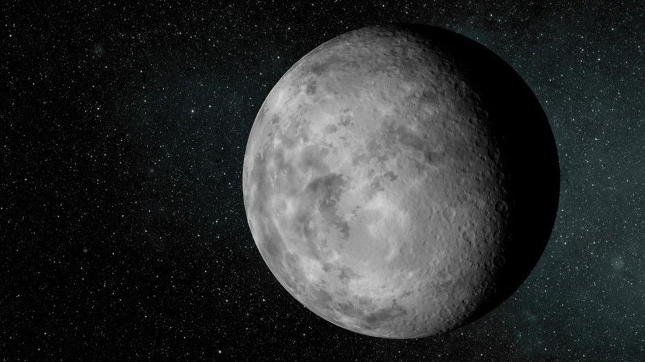 Nasa image of an artist's conception of the tiny new planet Kepler-37b