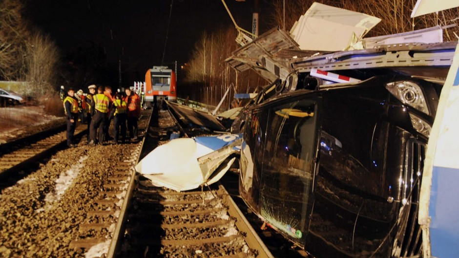 S-Bahn-Unfall Emmering