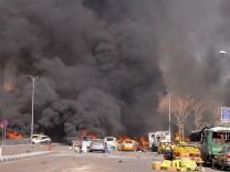 Damaskus Syrien Anschlag Autobombe