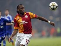 Champions League Didier Drogba Galatasaray Schalke