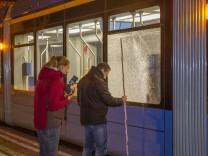 Schüsse auf Tram in München