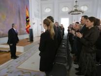 Gauck hält Europarede