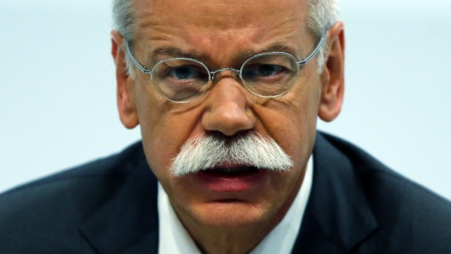 FILE picture of Daimler AG CEO Zetsche during the company's annual news conference in Stuttgart