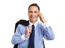Geschäftsmann im Winchester-Hemd