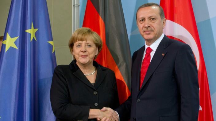 Merkel reist in die Türkei