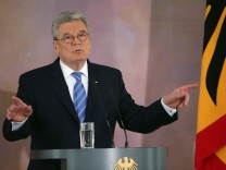 Gauck Gives Keynote Speech On Europe