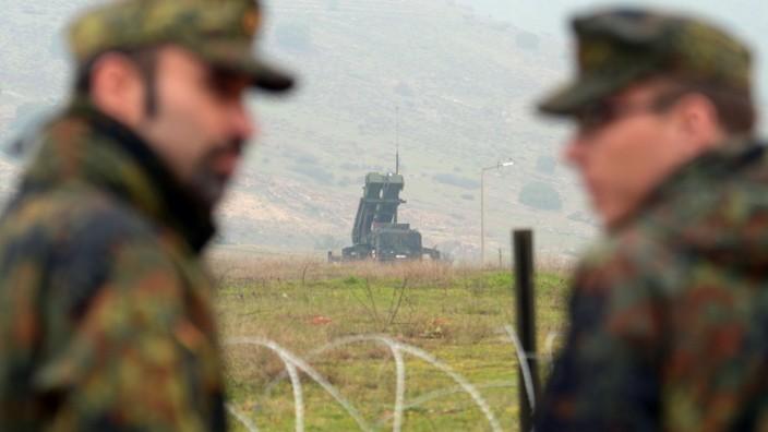 Deutsche 'Patriot'-Raketenabwehrstaffel in der Türkei