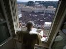 Angelus-Gebet auf dem Petersplatz