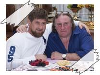 Depardieu Russland Kadyrow promiblog