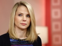 Yahoo Chief Executive Marissa Mayer appears on NBC News' 'Today' show in New York