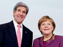 US-Außenminister Kerry in Berlin