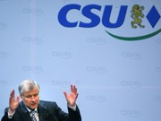 CSU-Parteitag in Nürnberg, horst Seehofer, wiederwahl, dpa