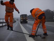 Straßenwärter der Autobahnmeisterei Nord