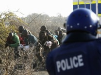 Polizei Südafrika REUTERS NEWS PICTURES - IMAGES OF THE YEAR 2012