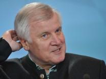 Der CSU-Vorsitzende und bayerische Ministerpräsident Horst Seehofer